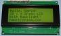 20 x 4 LCD Black on Green