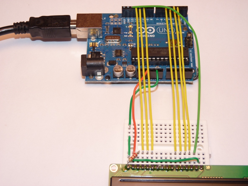 Arduino Character LCD Tutorial
