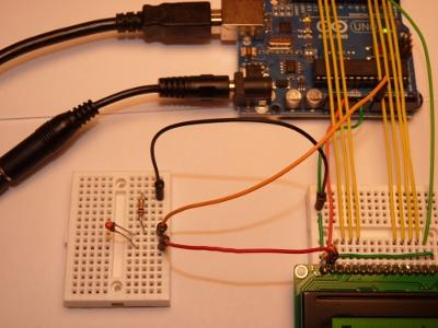 Arduino热敏电阻