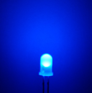 Difussed Blue LED